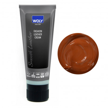 Woly Fashion Leather Cream Tan Cognac 75ml