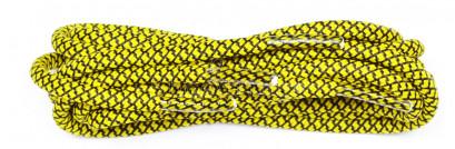 Black & Yellow 120cm Honeycomb Mosaic Laces