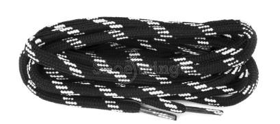 Black/white Sneaker Zest 120cm
