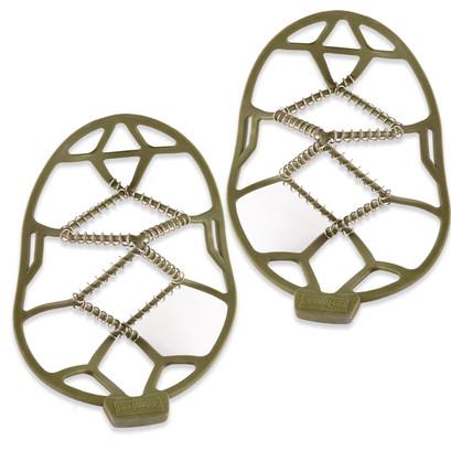 Shoe String Snowfeet Green Large 9-12 Loose