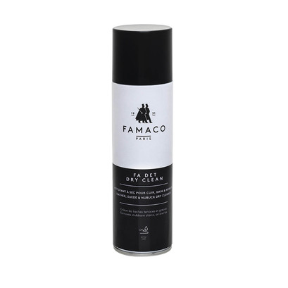 Famaco Fa Det Dry Clean Suede & Leather Clean 250ml Spray