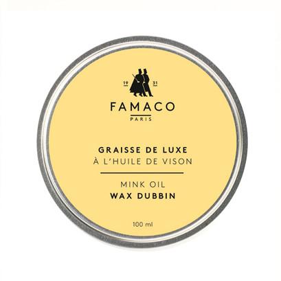 Famaco Mink Oil Tin Dubbin 100ml