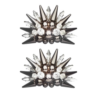 Shoe Clips Spiked Star