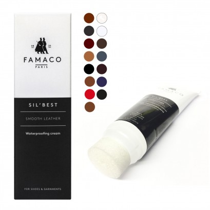 Famaco Leather Sil Best Polish Cream 75ml Tube