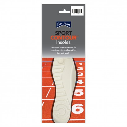 Shoe String  Insoles Sport Moulded Size 10
