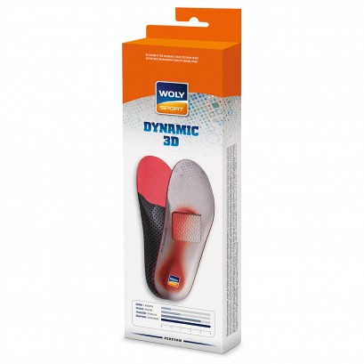 Woly Dynamic 3d Insoles Select Size