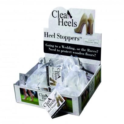Clean Heels Heel Sleeves Box Of 30 Packs