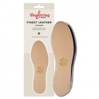 Shoestring Insoles Value Leather Select Size