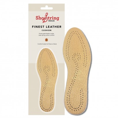 Shoe String Insoles Leather Deo Select Size