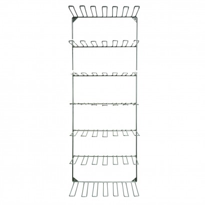 Blister Lace Wire Frame Stand 7x7 49 Hooks Wall Display