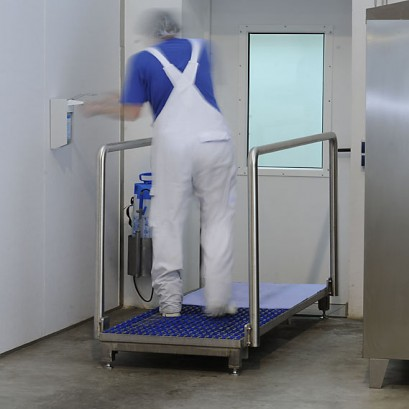 Heute Step Gate -removes Sole Dust And Dirt, Electric Suction
