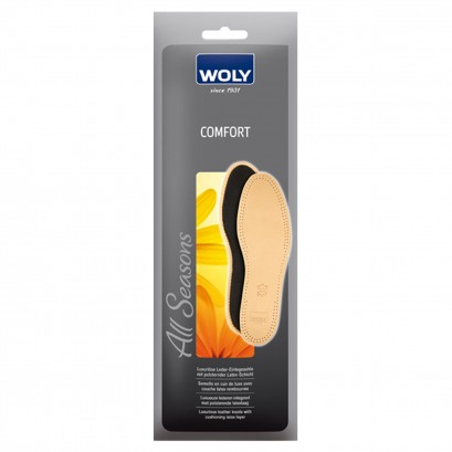 Woly Leather Comfort Insoles Select Size
