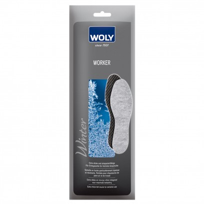 Woly Worker Insole Select Size