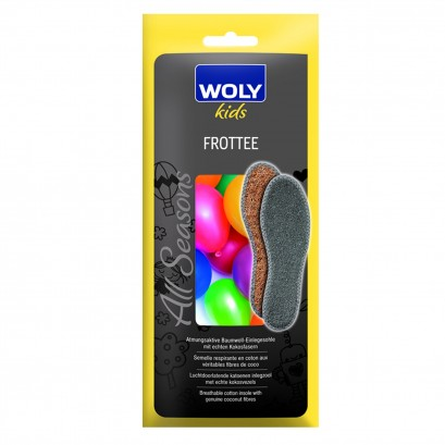Woly Frottee Childs Insoles Select Size