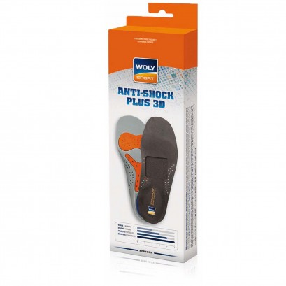 Woly Anti Shock Plus 3d Insole Select Size