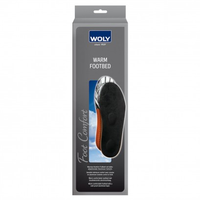 Woly Warm Footbed Insole Select Size