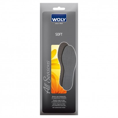 Woly Soft Latex Insoles Select Size