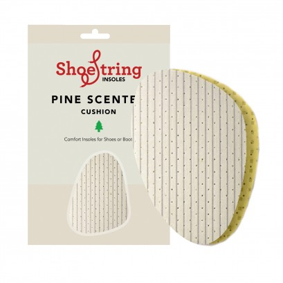 Shoe String  Insoles Green Pine Half Sole Large
