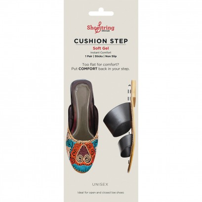 Shoestring Cushion Step Single Pairs