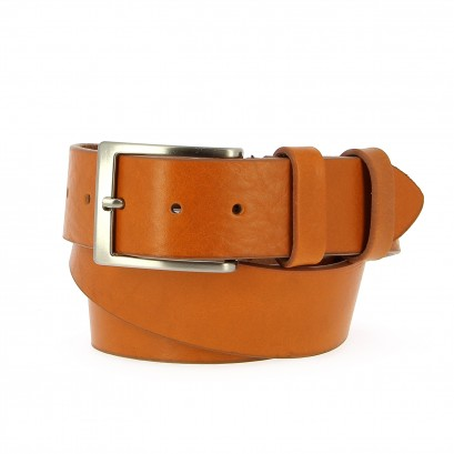 Belts Leather 40mm Jean Light Cognac 120cm