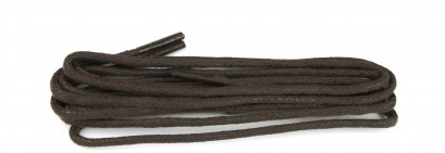 Brown Wax Polished Fine Round Laces