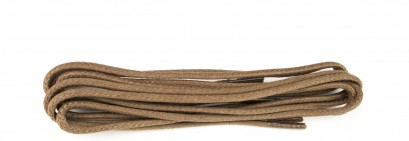 Tan Wax Polished Fine 2mm Round Laces