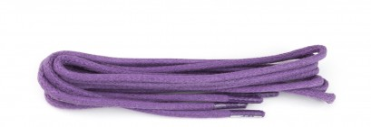 Lilac Wax Polished Fine Round Laces