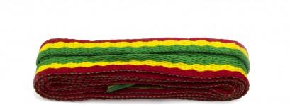 Sneaker Rasta Stripe Laces
