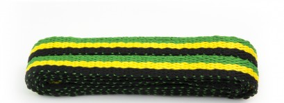Fashion Black/green/yell Stripe