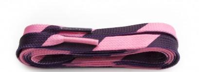 Sneaker Diagional Stripe Laces