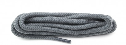 Grey Round Cord Laces Select Length