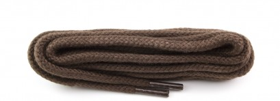 Brown Round Cord Laces Select Length