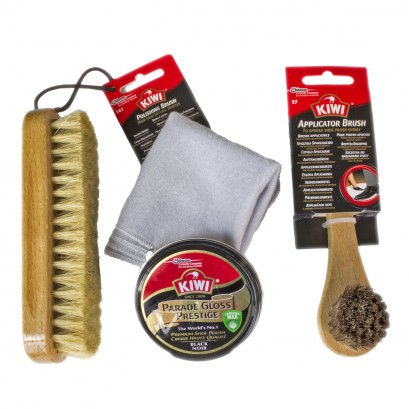 Kiwi Military Complete Polishing Kit Black