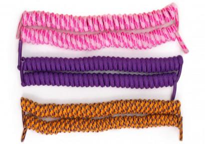 Elastic Coil Laces
