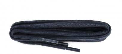 Navy Chunky Wax Laces 5mm