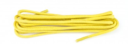 Bright Yellow Wax Polished Fine 2mm Round Laces Laces