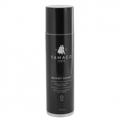 Famaco Patent Shine 250ml Spray Select Colour