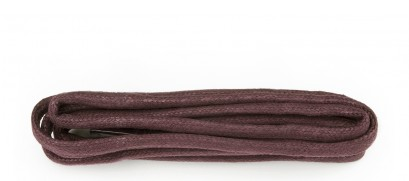 Burgundy Chunky Wax Laces 5mm