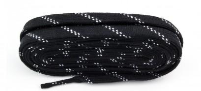 Black Skate Laces Flat Laces