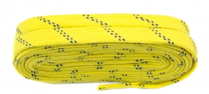 Yellow Skate Laces Flat Laces