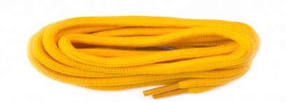 Yellow Dm Yeezy Cord Laces
