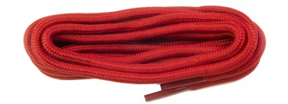 Red Dm Polyester Cord Laces