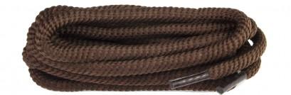 Brown Polyvelt Twist Laces 6mm