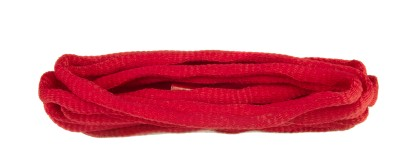 Red Knobbly Oval Laces