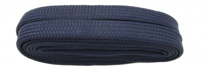 Navy  Flat Block Laces