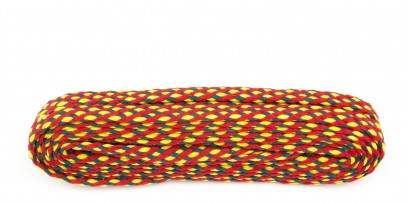 Walking 140cm Red/yell/grn Laces