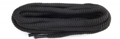 Black Polyvelt Twist Laces 6mm