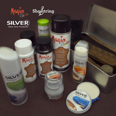 Magix - Silver - Shoestring - Shoe Care