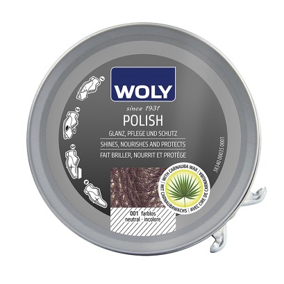 Woly Black Shoe Polish