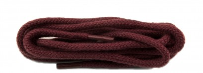 Burgundy Cord  Round Laces